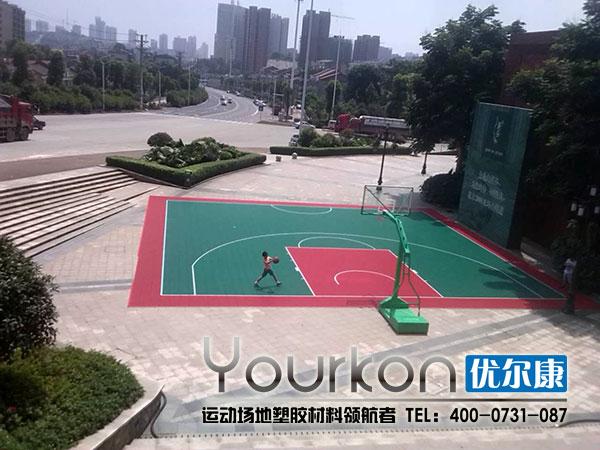 优尔康悬浮地板篮球场案例
