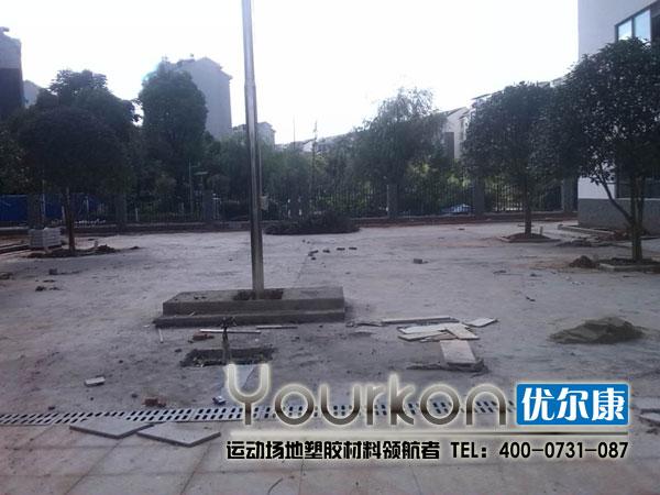 湖南省老干中心悬浮拼装幼儿园施工前