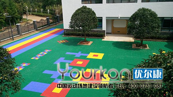 湖南省老干中心悬浮拼装幼儿园施工后