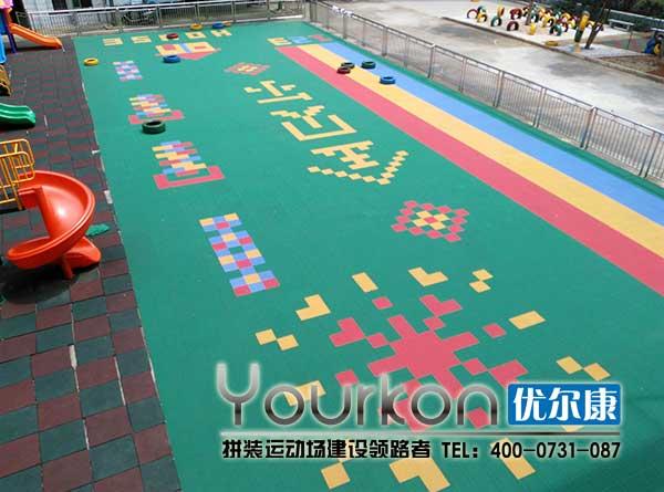湘潭金贝尔幼儿园地板效果图