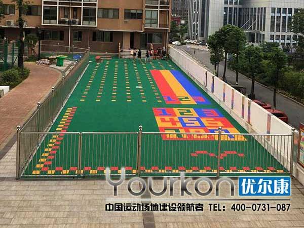 湖南有色金属管理局幼儿园地板效果图