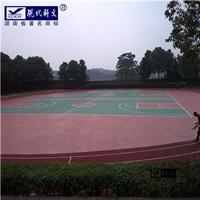 塑胶球场跑道施工