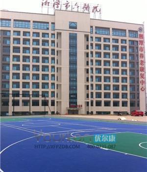 湘潭华雅花园艾斯堡国际幼儿园悬浮地板建设
