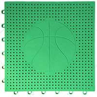 篮球场专用嵌入式地板(绿色)
