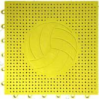 排球场专用嵌入式地板(黄色)