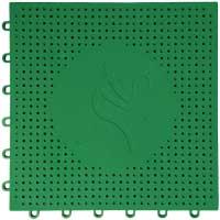 网球场专用嵌入式地板(绿色)