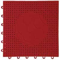 足球场专用嵌入式地板(红色)