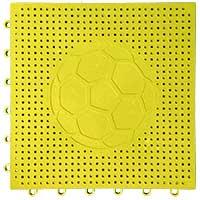 足球场专用嵌入式地板(黄色)