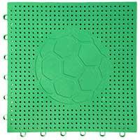 足球场专用嵌入式地板(绿色)