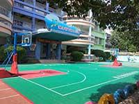 幼儿篮球场地板租赁