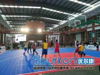 篮球赛拼装地板租赁